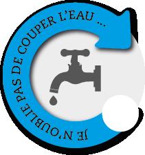 Couper l'eau avant installation