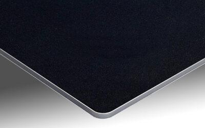 Votre crédence de cuisine sur support aluminium noir profond
