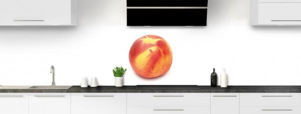 Crédence de cuisine Nectarine panoramique