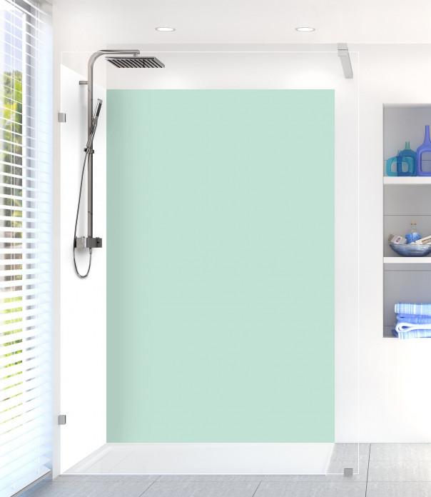 Panneau de douche Vert Pastel