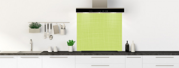 Crédence de cuisine Imitation tissus couleur vert olive fond de hotte
