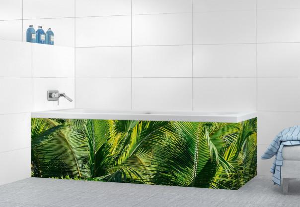 Panneau tablier de bain Paysage tropical