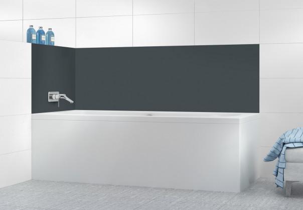 Panneau de bain Gris Carbone
