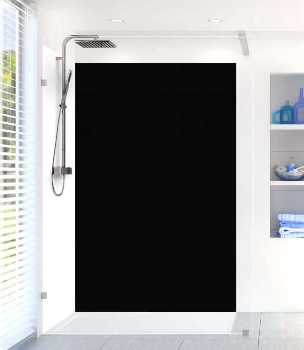 Panneau de douche Noir Mat Ardoise
