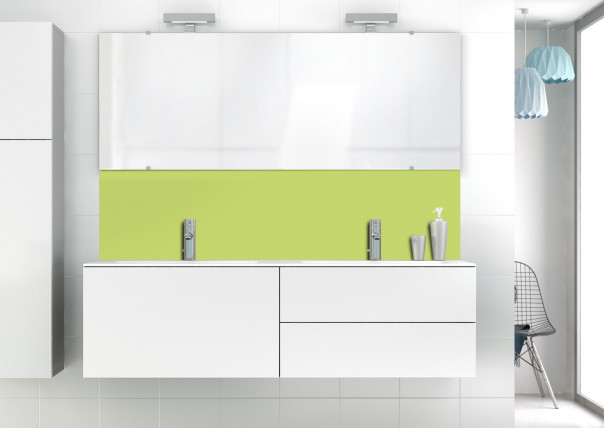 Panneau vasque Vert Olive