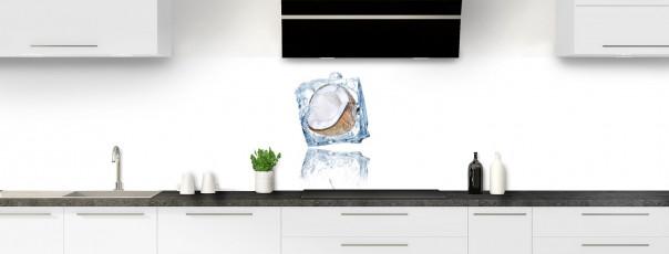 Crédence de cuisine Coco glacée panoramique