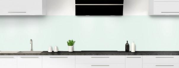 Crédence de cuisine Vert eau panoramique