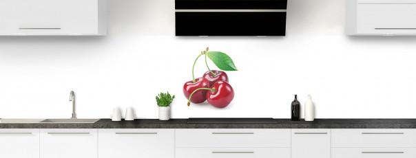 Crédence de cuisine Cerise panoramique