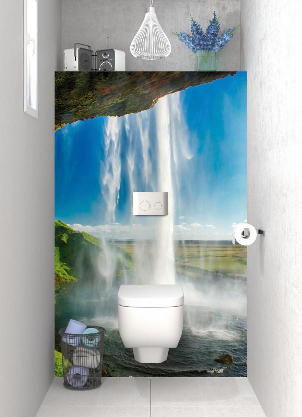 Panneau WC Cascade Islandaise
