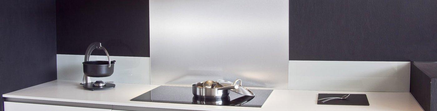 Crédence aluminium-inox, C-macredence, crédences de cuisine sur-mesure