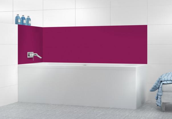 Panneau de bain Prune