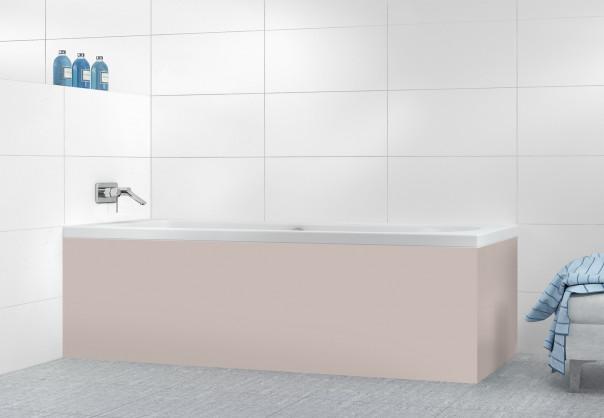Panneau tablier de bain Argile