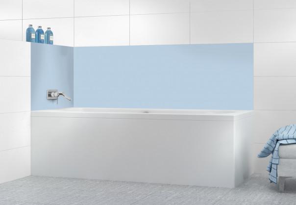 Panneau de bain Bleu Azur