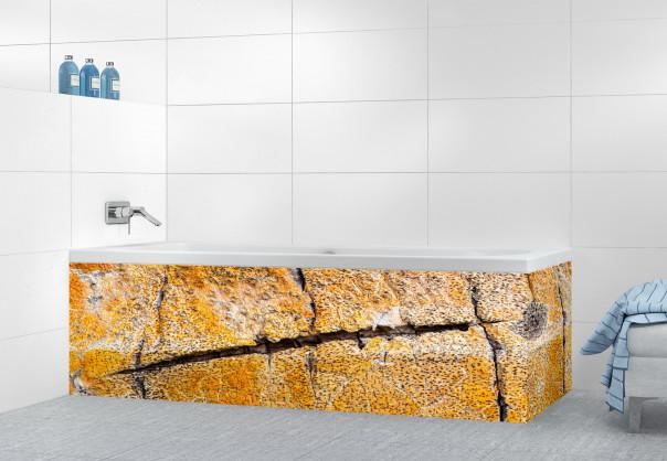 Panneau tablier de bain Ecorce jaune