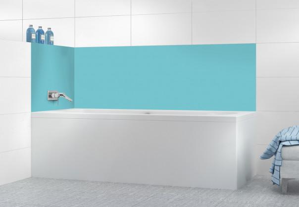 Panneau de bain Bleu lagon