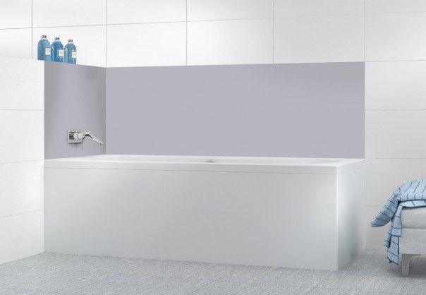 Panneau de bain Gris Métal