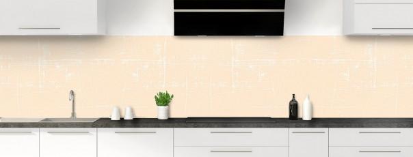 Crédence de cuisine Ardoise rayée couleur sable panoramique