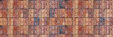 Crédence Briques patchwork