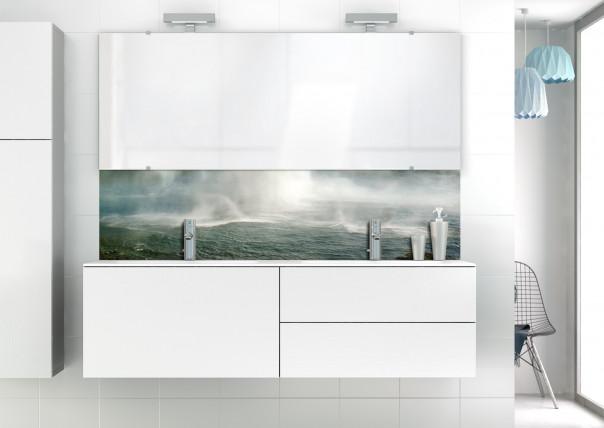 Panneau vasque Cascade Islandaise motif inversé