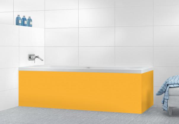 Panneau tablier de bain Abricot