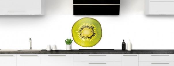 Crédence de cuisine Kiwi panoramique