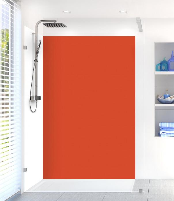 Panneau de douche Rouge Brique
