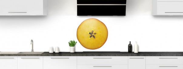 Crédence de cuisine Pomme rouge panoramique