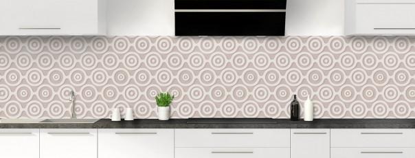 Crédence de cuisine Papier peint rétro couleur argile panoramique
