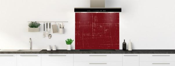 Crédence de cuisine Ardoise rayée couleur rouge pourpre fond de hotte