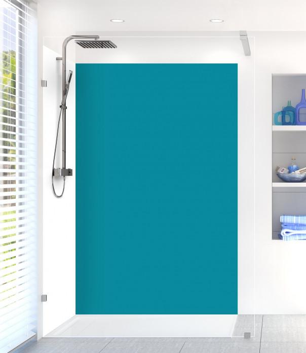 Panneau de douche Bleu Canard