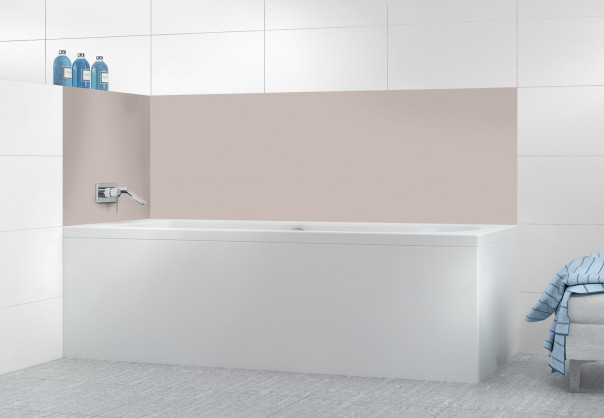 Panneau de bain Argile