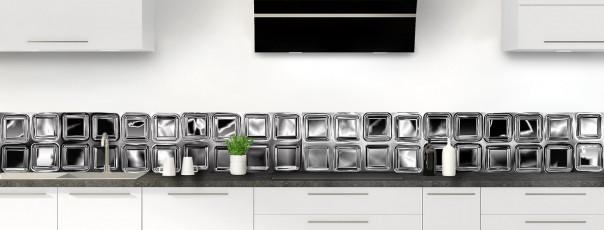 Crédence de cuisine Briques de verre dosseret