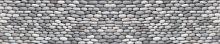 Crédence Mur de galets gris