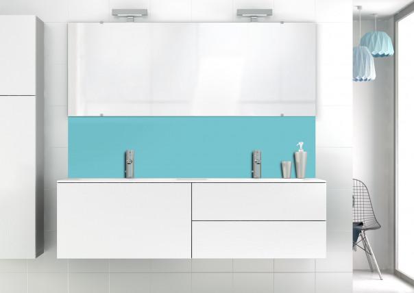Panneau vasque Bleu lagon