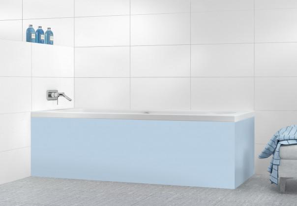 Panneau tablier de bain Bleu Azur