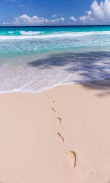 Crédence Les pieds dans le sable