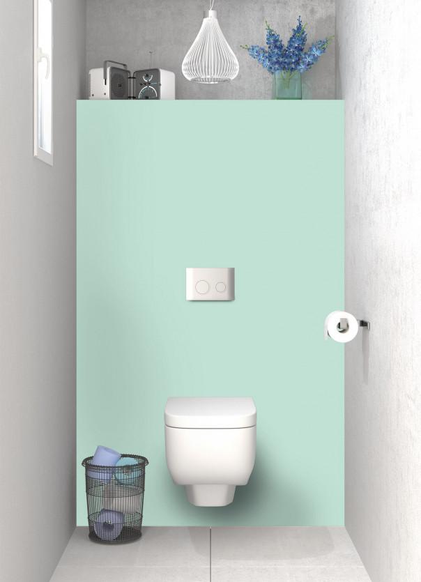 Panneau WC Vert Pastel