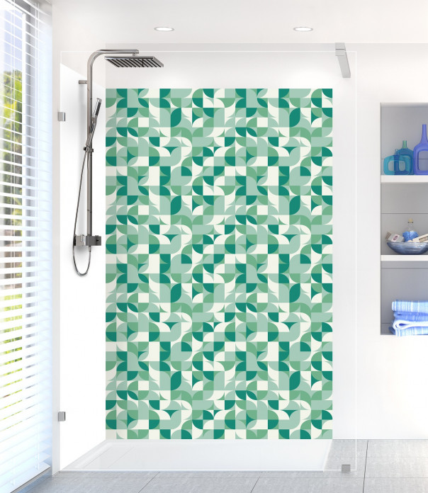 Panneau de douche Disco Vert