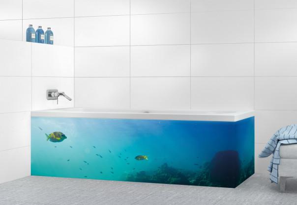 Panneau tablier de bain Entre ciel et mer