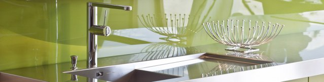 Crédence verre de synthèse (polycarbonate)
