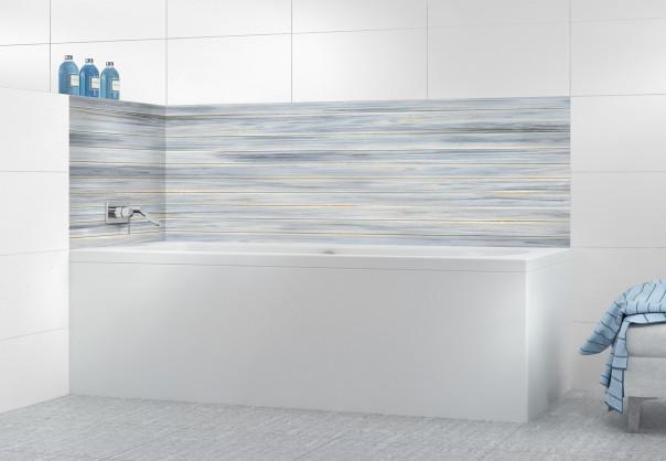Panneau de bain Lambris Bleu ciel