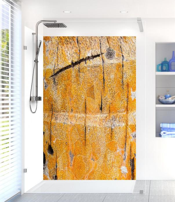 Panneau de douche Ecorce jaune
