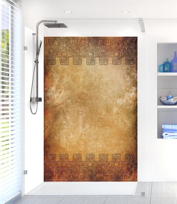 Panneau de douche Motifs Incas