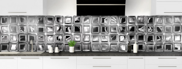 Crédence de cuisine Briques de verre panoramique