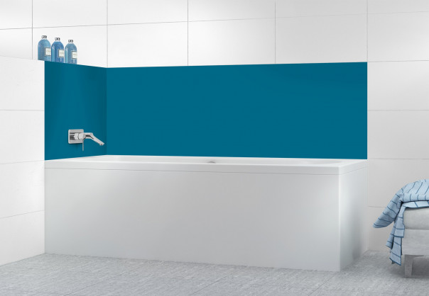 Panneau de bain Bleu Baltic