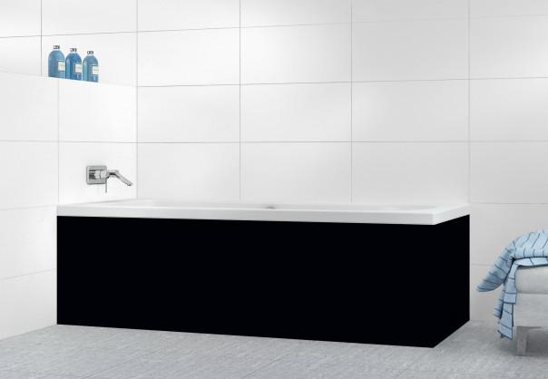 Panneau tablier de bain Noir
