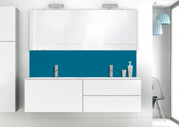 Panneau vasque Bleu Baltic