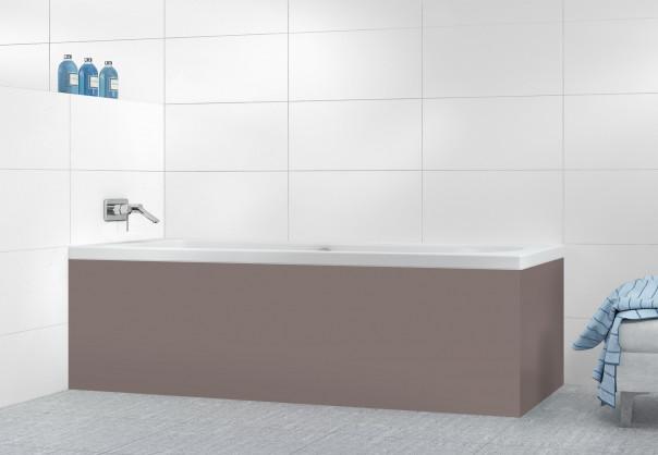 Panneau tablier de bain Taupe