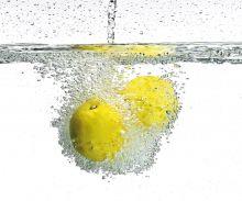 Crédence Aqua et citron