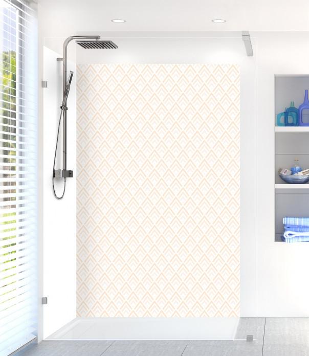 Panneau de douche Ecailles  couleur sable